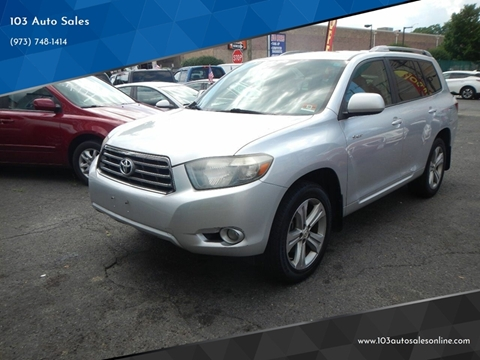 2008 Toyota Highlander for sale at 103 Auto Sales in Bloomfield NJ