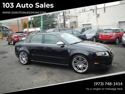 2008 Audi RS 4 for sale at 103 Auto Sales in Bloomfield NJ