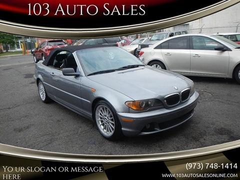 2004 BMW 3 Series for sale at 103 Auto Sales in Bloomfield NJ