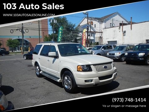 2006 Ford Expedition for sale at 103 Auto Sales in Bloomfield NJ