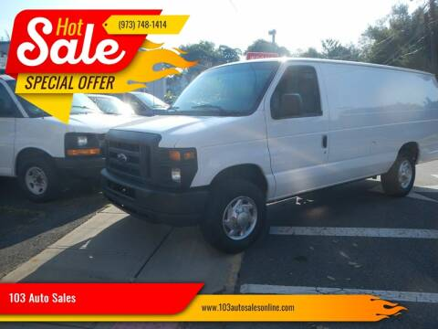 2010 Ford E-Series Cargo for sale at 103 Auto Sales in Bloomfield NJ