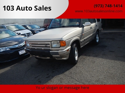 1998 Land Rover Discovery for sale at 103 Auto Sales in Bloomfield NJ