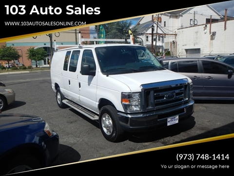 2013 Ford E-Series Cargo for sale at 103 Auto Sales in Bloomfield NJ