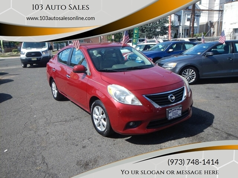2012 Nissan Versa for sale at 103 Auto Sales in Bloomfield NJ