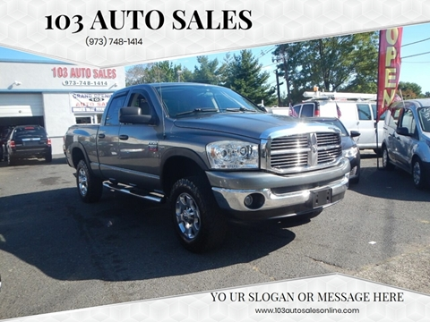 2008 Dodge Ram Pickup 2500 for sale at 103 Auto Sales in Bloomfield NJ