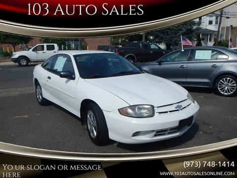 2003 Chevrolet Cavalier for sale at 103 Auto Sales in Bloomfield NJ