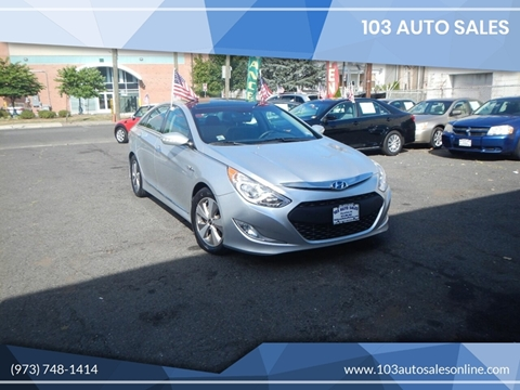 2012 Hyundai Sonata Hybrid for sale at 103 Auto Sales in Bloomfield NJ