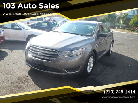 2013 Ford Taurus for sale at 103 Auto Sales in Bloomfield NJ
