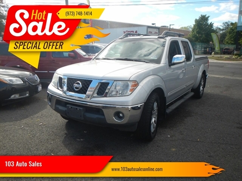 2010 Nissan Frontier for sale in Bloomfield, NJ