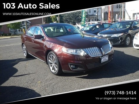 2009 Lincoln MKS for sale at 103 Auto Sales in Bloomfield NJ