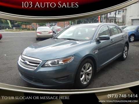 2010 Ford Taurus for sale at 103 Auto Sales in Bloomfield NJ