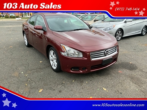 2013 Nissan Maxima for sale at 103 Auto Sales in Bloomfield NJ