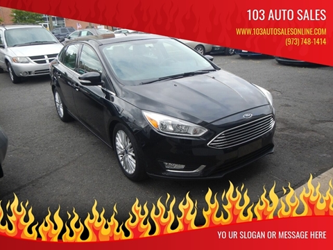 2015 Ford Focus for sale at 103 Auto Sales in Bloomfield NJ