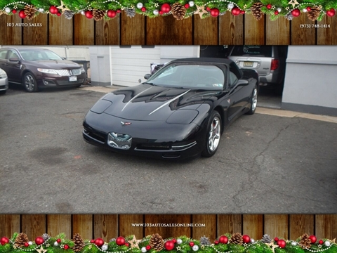 2002 Chevrolet Corvette for sale at 103 Auto Sales in Bloomfield NJ