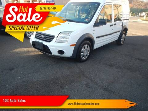 2012 Ford Transit Connect for sale at 103 Auto Sales in Bloomfield NJ