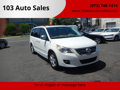 2009 Volkswagen Routan for sale at 103 Auto Sales in Bloomfield NJ