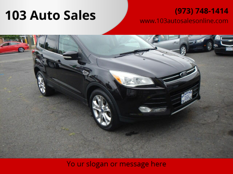 2013 Ford Escape for sale at 103 Auto Sales in Bloomfield NJ