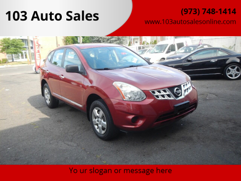 2012 Nissan Rogue for sale at 103 Auto Sales in Bloomfield NJ