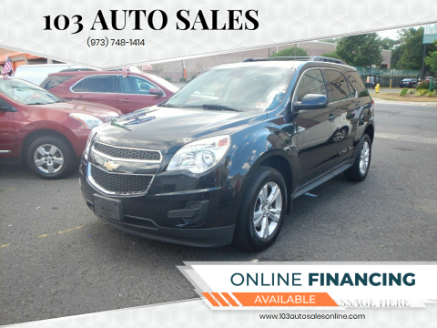 2015 Chevrolet Equinox for sale at 103 Auto Sales in Bloomfield NJ