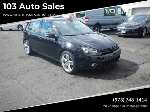 2013 Volkswagen Golf for sale at 103 Auto Sales in Bloomfield NJ