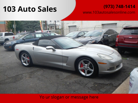2007 Chevrolet Corvette for sale at 103 Auto Sales in Bloomfield NJ