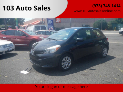 2013 Toyota Yaris for sale at 103 Auto Sales in Bloomfield NJ