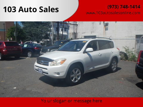 2008 Toyota RAV4 for sale at 103 Auto Sales in Bloomfield NJ