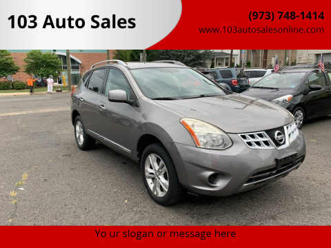 2013 Nissan Rogue for sale at 103 Auto Sales in Bloomfield NJ