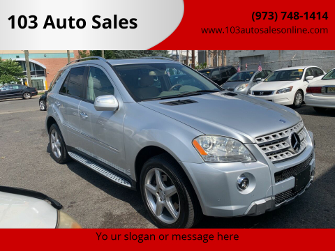 2009 Mercedes-Benz M-Class for sale at 103 Auto Sales in Bloomfield NJ
