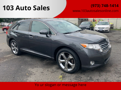 2010 Toyota Venza for sale at 103 Auto Sales in Bloomfield NJ