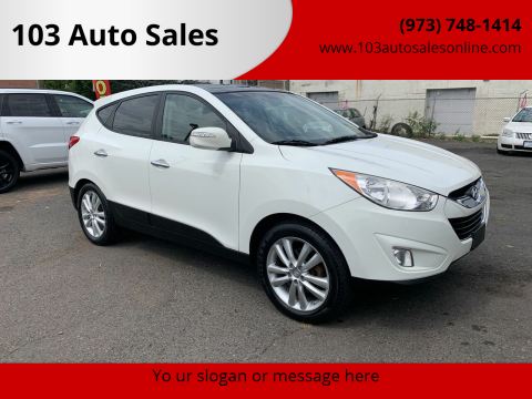 2012 Hyundai Tucson for sale at 103 Auto Sales in Bloomfield NJ