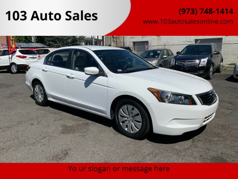 2008 Honda Accord for sale at 103 Auto Sales in Bloomfield NJ