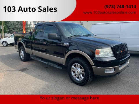 2004 Ford F-150 for sale at 103 Auto Sales in Bloomfield NJ