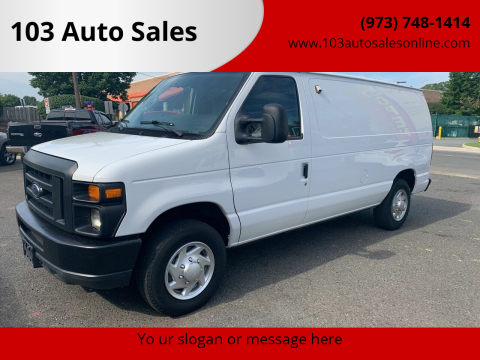 2014 Ford E-Series Cargo for sale at 103 Auto Sales in Bloomfield NJ