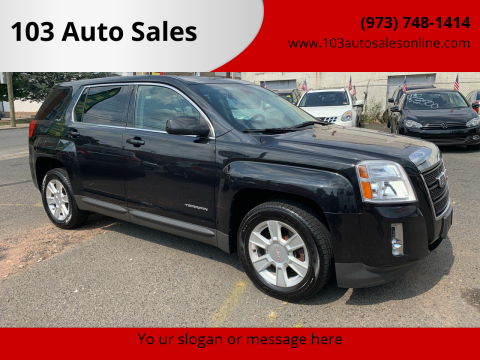 2012 GMC Terrain for sale at 103 Auto Sales in Bloomfield NJ