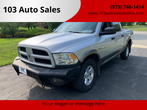 2010 Dodge Ram Pickup 1500 for sale at 103 Auto Sales in Bloomfield NJ