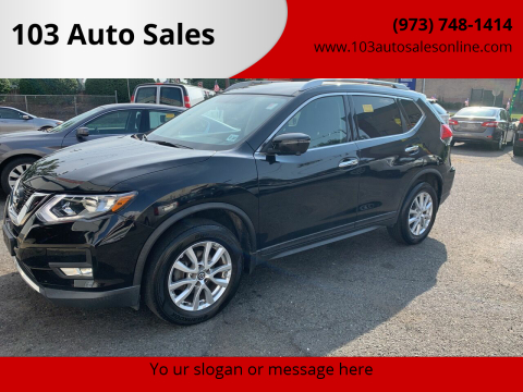 2017 Nissan Rogue for sale at 103 Auto Sales in Bloomfield NJ