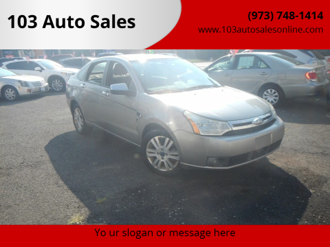 2008 Ford Focus for sale at 103 Auto Sales in Bloomfield NJ