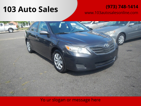 2010 Toyota Camry for sale at 103 Auto Sales in Bloomfield NJ