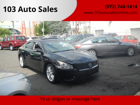2011 Nissan Maxima for sale at 103 Auto Sales in Bloomfield NJ