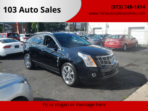 2011 Cadillac SRX for sale at 103 Auto Sales in Bloomfield NJ