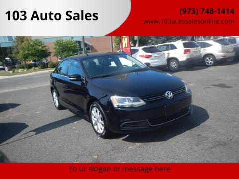 2013 Volkswagen Jetta for sale at 103 Auto Sales in Bloomfield NJ