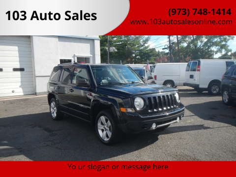 2012 Jeep Patriot for sale at 103 Auto Sales in Bloomfield NJ