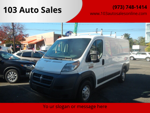 2014 RAM ProMaster Cargo for sale at 103 Auto Sales in Bloomfield NJ