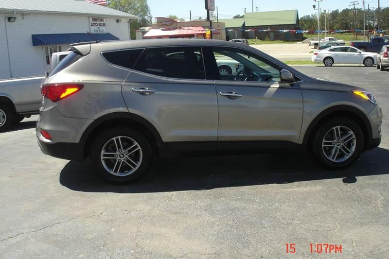 2018 Hyundai Santa Fe Sport for sale at Weston's Auto Sales, Inc in Crewe VA