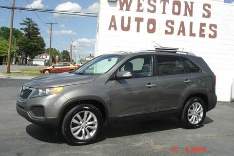 2011 Kia Sorento for sale at Weston's Auto Sales, Inc in Crewe VA