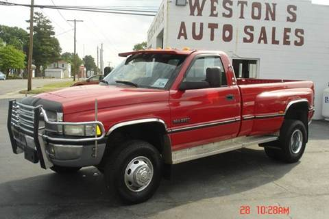 2000 Dodge Ram Pickup 3500 for sale at Weston's Auto Sales, Inc in Crewe VA