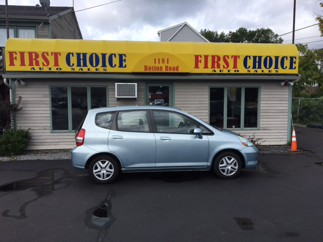 2007 Honda Fit Base 4dr Hatchback - Haverhill MA