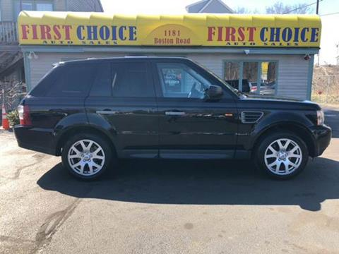 2008 Land Rover Range Rover Sport for sale in Haverhill, MA