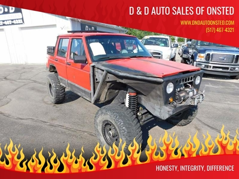 1993 Jeep Cherokee for sale in Onsted, MI